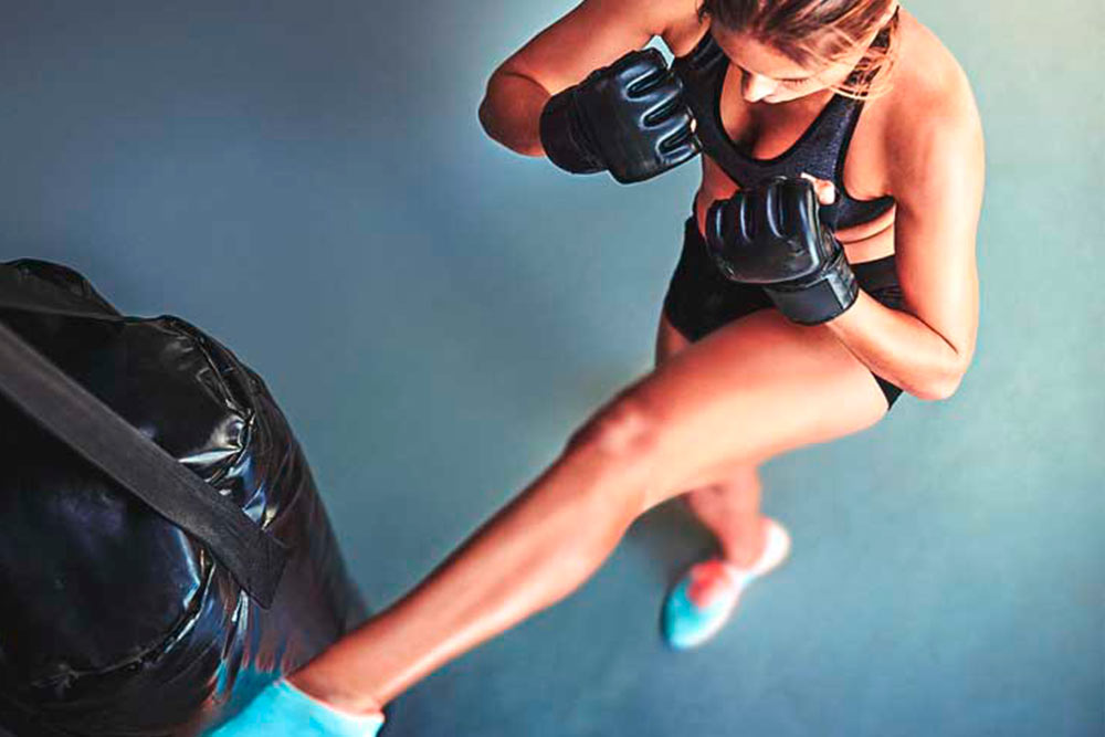 aulas de kickboxing para mulheres